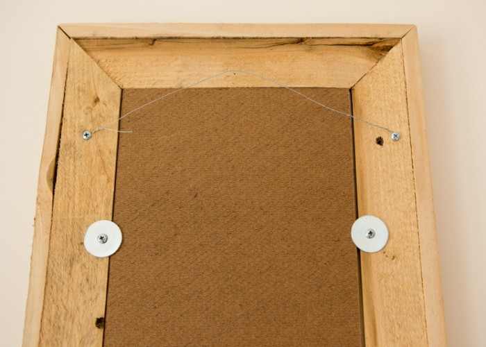 All frames come with a secure backing and wire hanger.