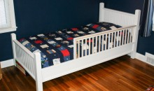 Custom-built toddler bed